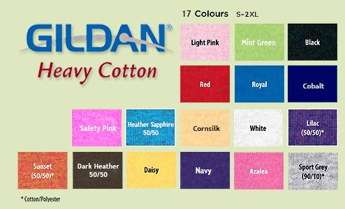 Giladn Heavy Cotton Ladies Kolory