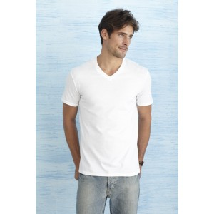 T-Shirt Softstyle V-Neck Męski 150gr