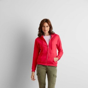 Gildan Heavy Blend Ladies Full Zip Hooded Sweatshirt 279 gr